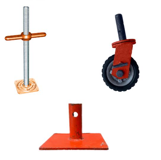 accesorios para andamios